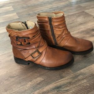 Veronica Strappy Frye Boot